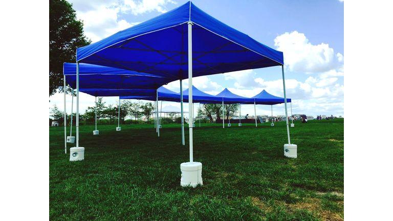 Custom Tent Arrangements : goodshuffle.com