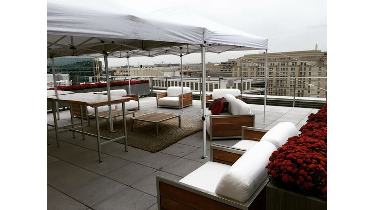 Rooftop views without the chance of weather! : goodshuffle.com
