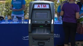 Image of a ATM
