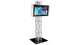 "Image of a 42"" HD LCD TV with Stand"