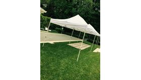 Image of a 10' x 30' Economy Tent