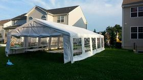Image of a 20' x 40' Economy Frame Tent