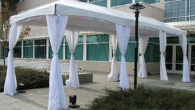 Image of a 10' x 30' Marquee Tent