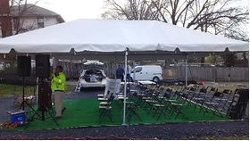 20' x 20' Frame Tent image