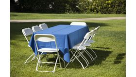 6' Folding Banquet Table image