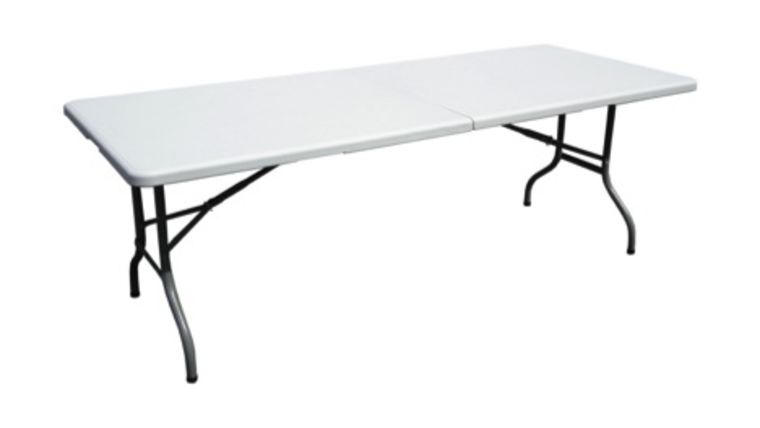 Picture of a 6' Folding Banquet Table