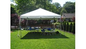 Image of a 15' x 15' Frame Tent