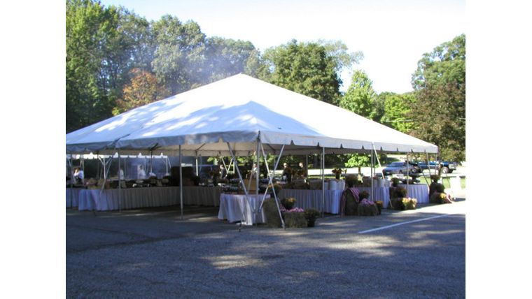 Picture of a 40 x 40' Commercial Tent
