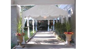Image of a 10' x 60' Marquee Tent