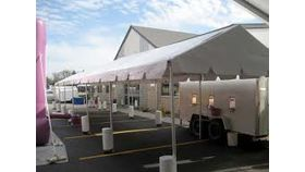 Image of a 10' x 70' Marquee Tent
