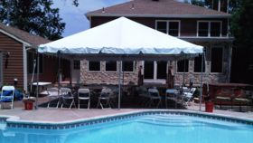 Image of a 20' x 20' Frame Tent