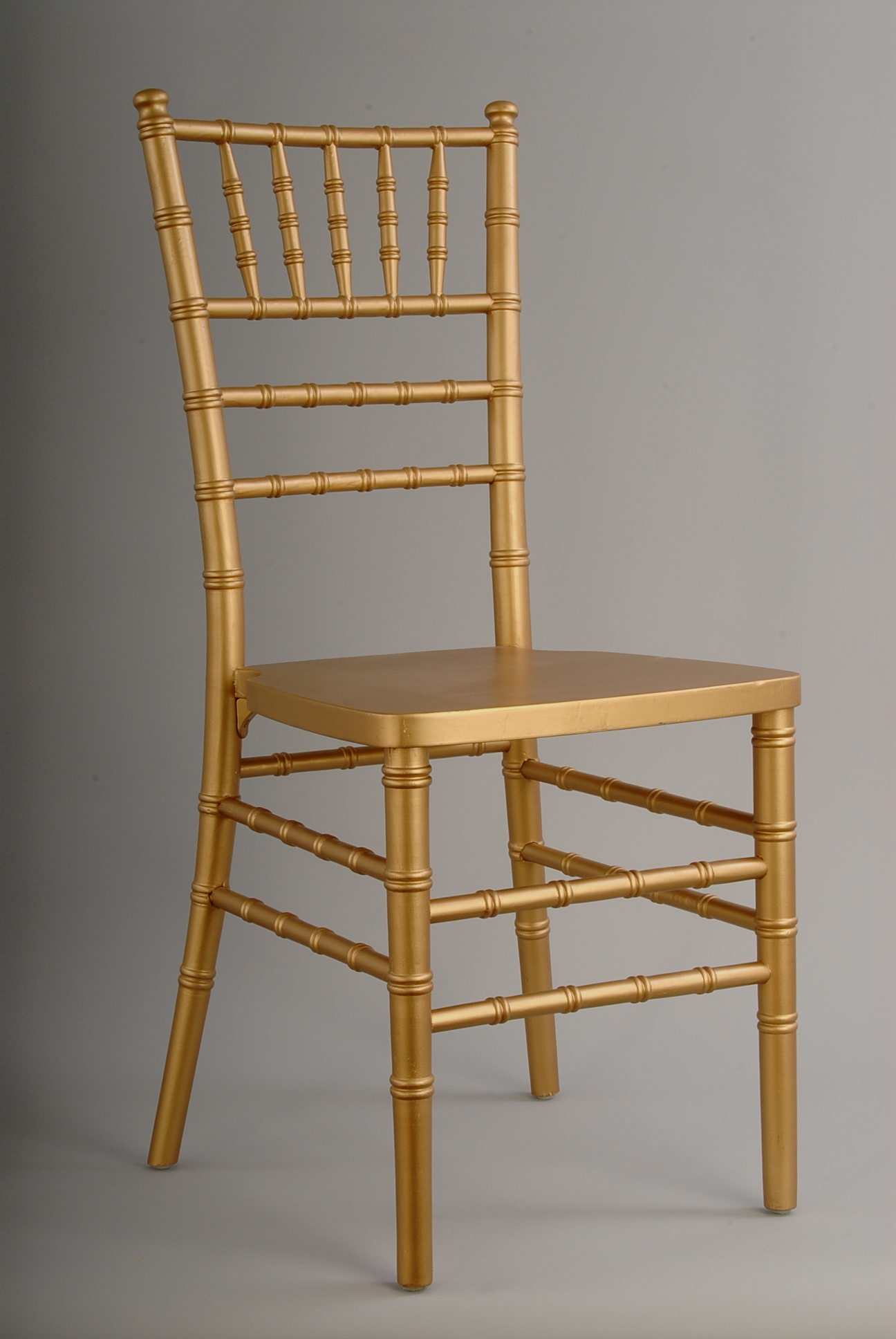 Picture Of A Gold Chivari Ballroom Chair