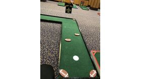 Image of a Mini Golf Hole (Who Dat)