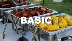 Image of a Basic Catering Package