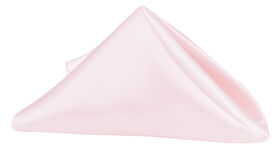 Image of a Napkins - Satin - Pink