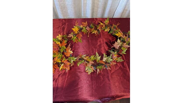 Picture of a Fall Garland