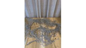 Silver Shimmery Garland image