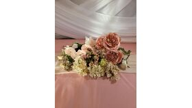 Image of a Peony Pink/Beige Assortment bouquet