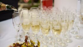 Image of a Champagne Table