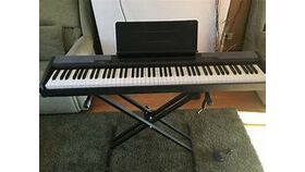 Image of a Casio CDP 100 88 weighted keys keyboard piano