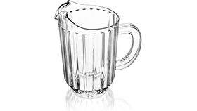 Image of a 60oz. Clear SAN Water Pitcher