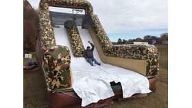Image of a Camo Obstacle Course #2