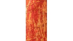 Image of a 108 Round Orange Iridescent Crush Tablecloths