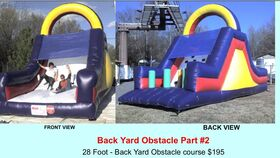 Image of a Backyard Obstacle #2