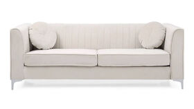 Image of a Modern Ivory Shell Sofa