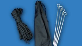 Image of a Tent Stake & Rope Kit