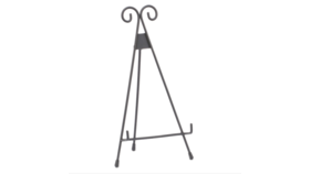 Image of a Easel, Tabletop, BLACK