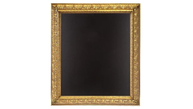 "Image of a Chalkboard, Large Gold Frame, 28"" x 23.5"""