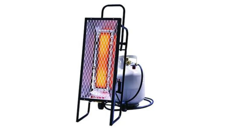 """Picture of a Deck Heater - Propane Radiant Heater, 34"""" Tall"""