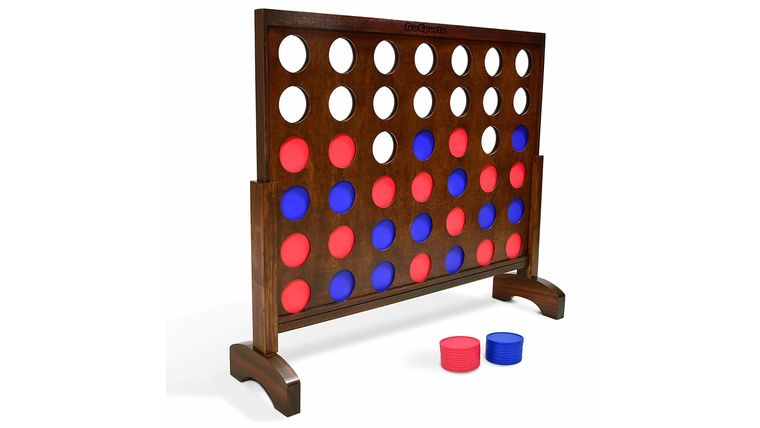 Picture of a Giant Connect 4 Game Set