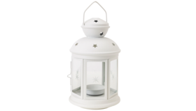 Image of a Lanterns, White, 8""