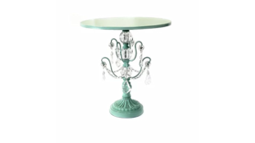 Image of a Cake Stand, Mint Chandelier, Large