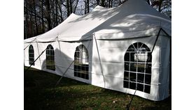 20' x 40' Pole Tent (White) image