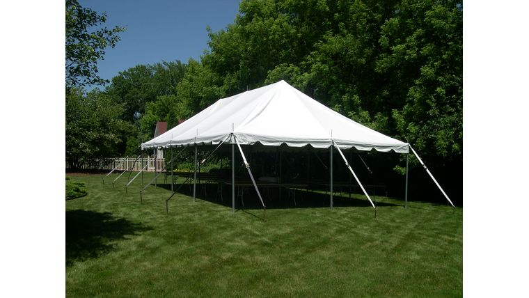 Picture of a 20' x 40' Pole Tent (White)