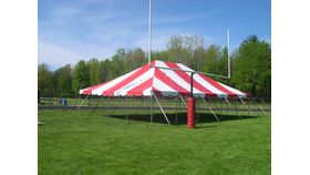 Image of a 30' x 40' Pole Tent