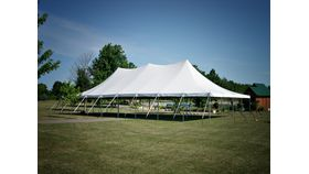 Image of a 30' x 60' Pole Tent