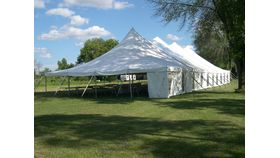 Image of a 40' x 100' Pole Tent
