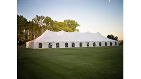 Image of a 40' x 120' Pole Tent