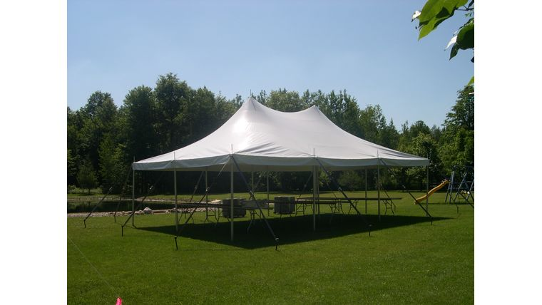 "Picture of a ""Shindig"" Graduation Party Package (White)"