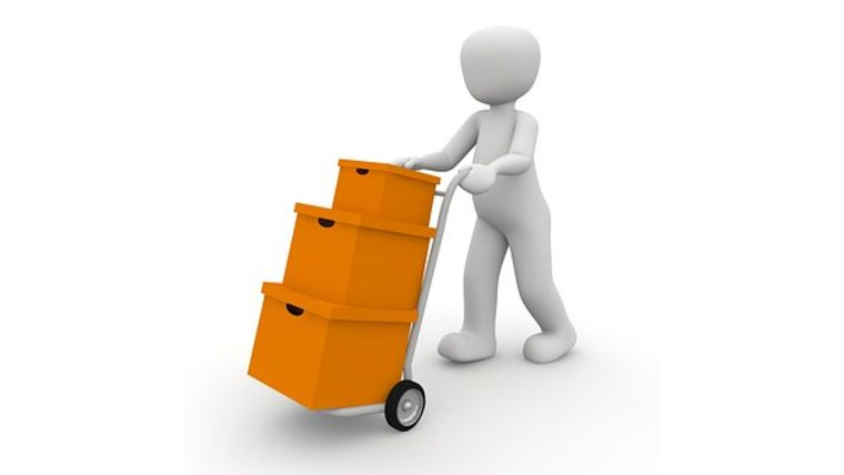 Picture of a Package Receiving and Delivery