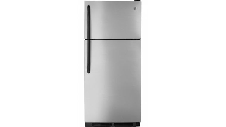 Picture of a Fridge Full Size Stainless Steel