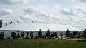 Image of a 40 x 40 Frame Tent