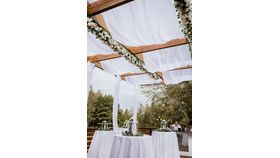 Image of a Ceiling Draping Total Coverage per sqft