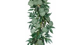Image of a 8 Foot Greenery Garland Table Runner (With Eucalyptus)