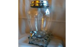 Image of a Beverage Dispenser - 3 Gallon Classic w/Glass Block Stand