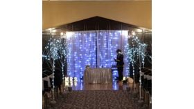 Fairy Lights Curtain, Cool White - 10' x 10' image